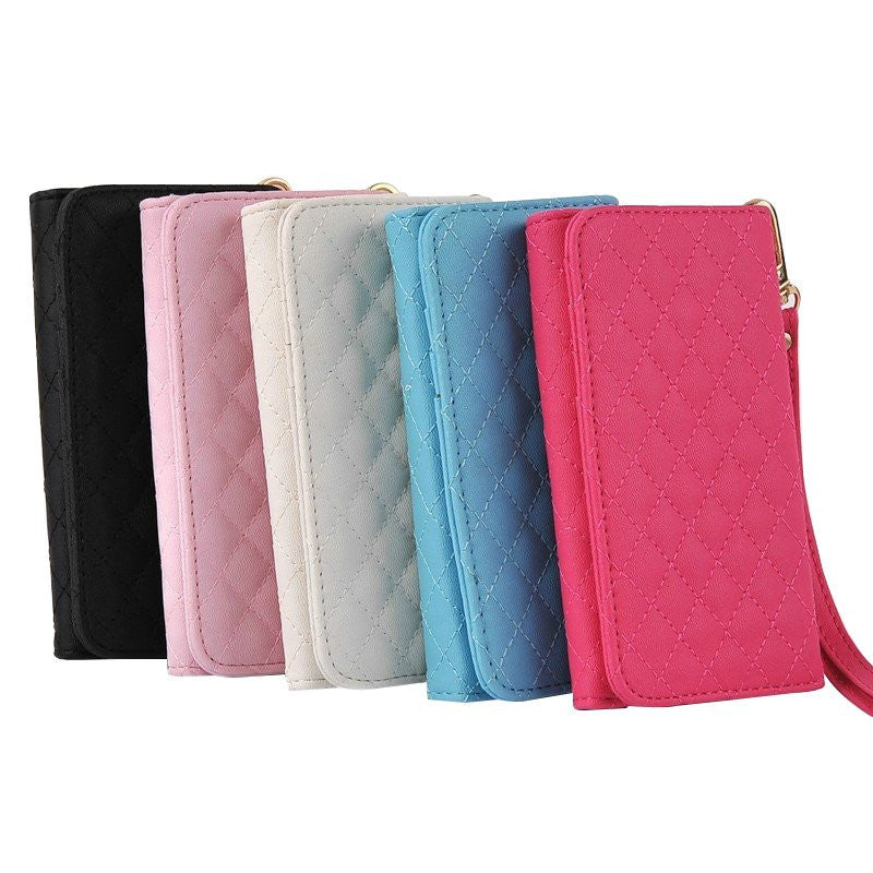 LizaTech Universal Wallet Leather Pouch for iPhone 4/4S/5/5S/5C/6/6S