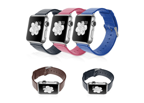 LizaTech Genuine Leather Replacement Band For Apple Watch