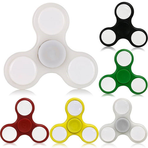 LizaTech Tri-Color LED Fidget Spinner