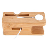 LizaTech Wooden Cradle Dock for Apple Watch and iPhone
