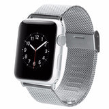 LizaTech Stainless Steel Mesh Milanese Loop Band for Apple Watch