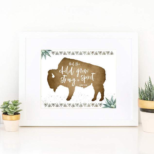 Boys Modern Desert Nursery Prints
