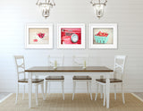 Retro Kitchen Print Set of Three