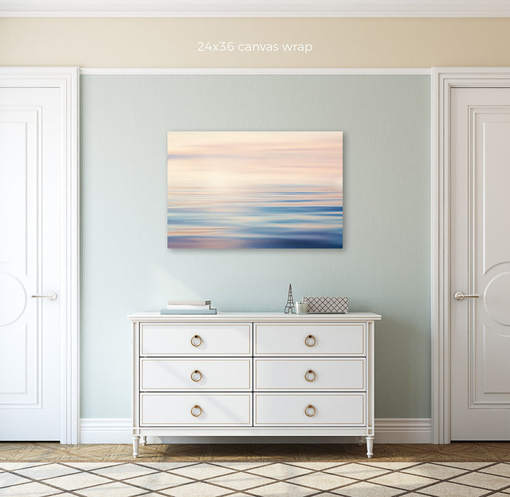 Abstract Lake - Pastel Abstract Water Photo for your Modern Decor