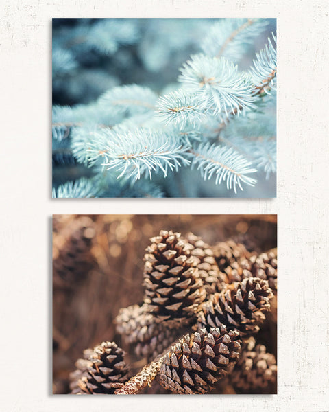 Alpine Frost Print Set of Two