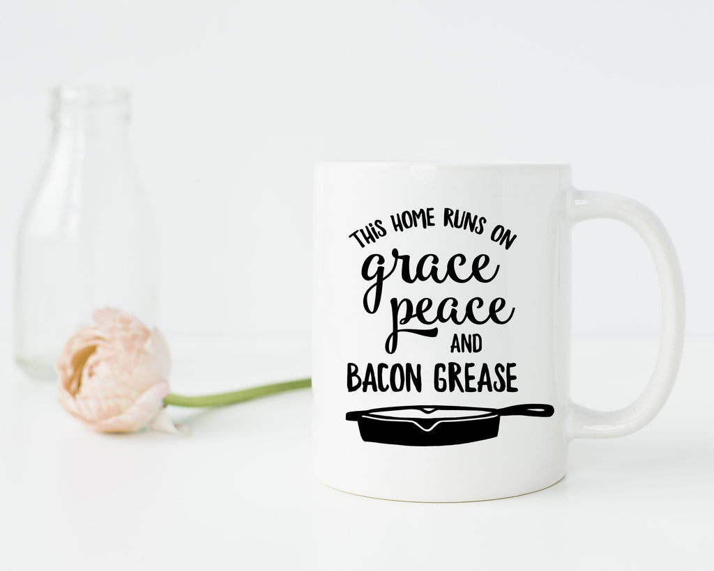 Grace Peace & Bacon Grease Mug