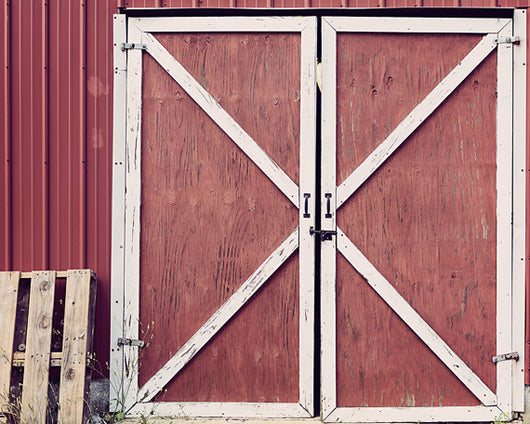 Barn Doors - Rustic Wall Art for your Modern Farmhouse