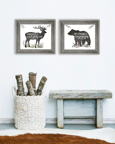 Woodland Nursery Set of Two