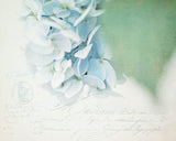 Blue Sonnet - French Country Wall Decor