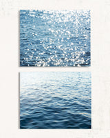 Blue Waters Print Set of Two