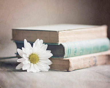 Bookworm - Vintage Farmhouse Decor