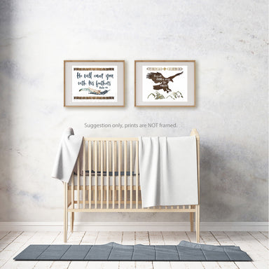 Tribal Boys Room Set of Two