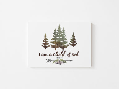 I am a Child of God - Canvas Wrap
