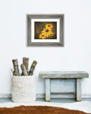 Choose Joy - Rustic Yellow Kitchen Art