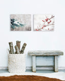 Christmas Wall Art Set of Two