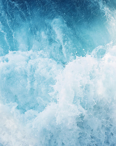 Churning Waters - Ocean Wave Wall Art for your Coastal Decor