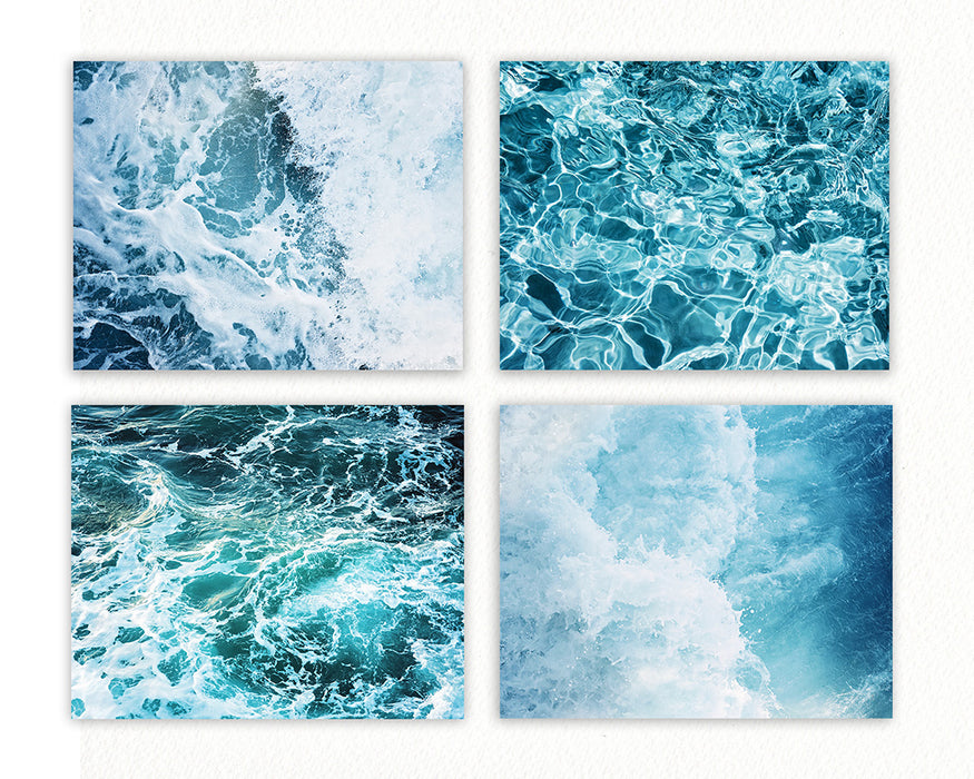Churning Waters Print Set of Four