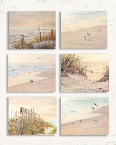 Coastal Print Set of Six