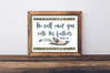 Woodland Nursery Art - Rustic Bible Verse Print