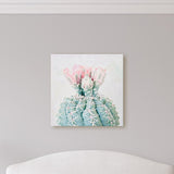 Cutie Cactus - Flowering Cactus Photo for your Modern Rustic Decor