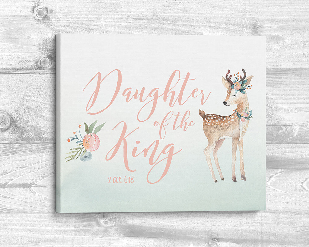 Daughter of the King - Canvas Wrap