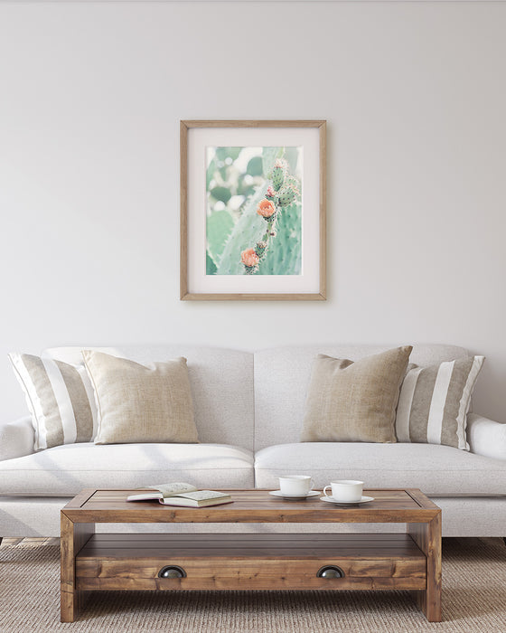 Desert Rose - Modern Cactus Wall Art
