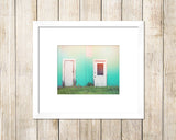 Doorways - Rustic Coastal Wall Art