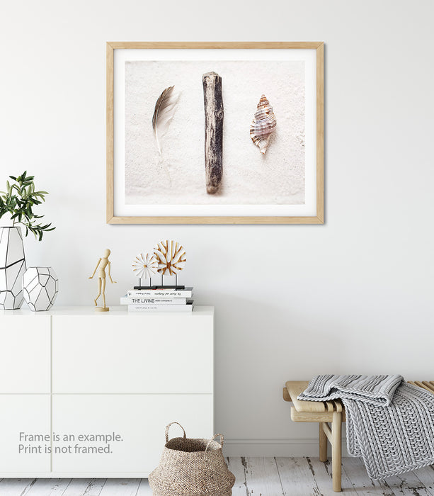 Drifting Away - Rustic Coastal Wall Art
