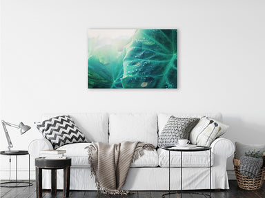 Emerald Sun - Tropical Beach Wall Art