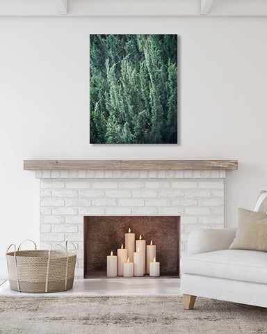 Evergreen - Rustic Alpine Wall Decor