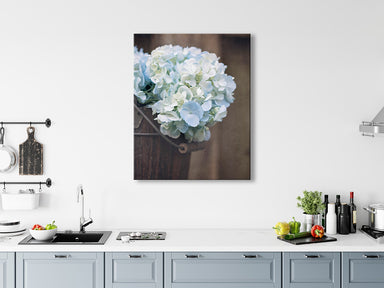 Farmhouse Hydrangeas - Rustic Farmhouse Wall Decor