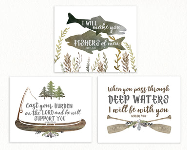 Camping Nursery Gallery Wall Set