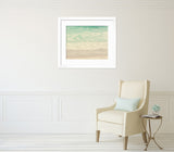 Foamy Seafoam - Ocean Wall Art