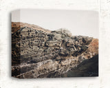 Foggy Rocks - Rustic Coastal Decor