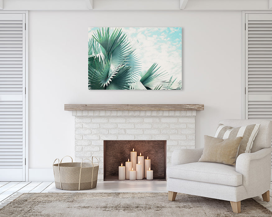 Fronds - Palm Leaf Modern Tropical Wall Decor