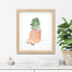 Pineapple Fruits of the Spirit - Tropical Girls Nursery Print