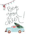 Be of Good Cheer - Lettered Print
