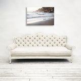 Gray Beach - Rustic Coastal Wall Art