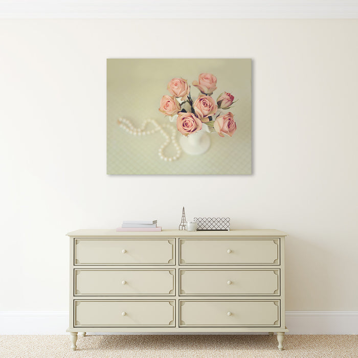 Hepburn's Pearls - French Country Wall Decor