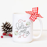 Holly Jolly - Christmas Mug