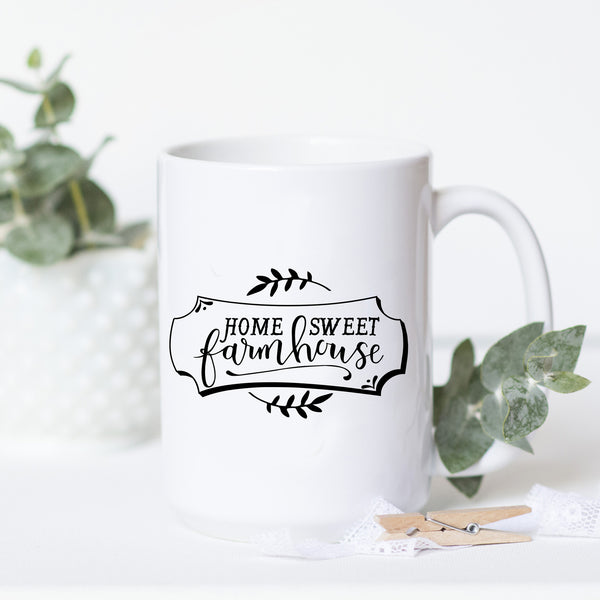 Home Sweet Farmhouse Mug