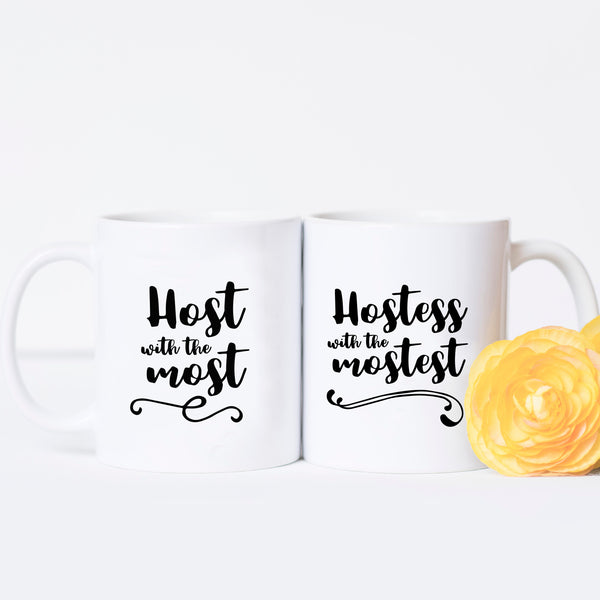Host & Hostess - Couples Mug Set