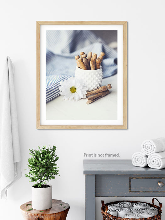 Laundry Day - Farmhouse Laundry Room Wall Art