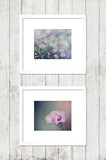 Purple Nursery Print Set of Two