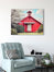Little Red Schoolhouse - Red Wall Art for your Rustic Farmhouse