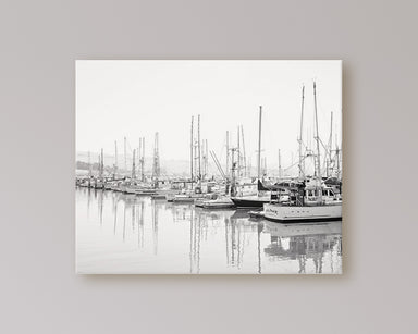 Marina - Minimalist Black and White Wall Art