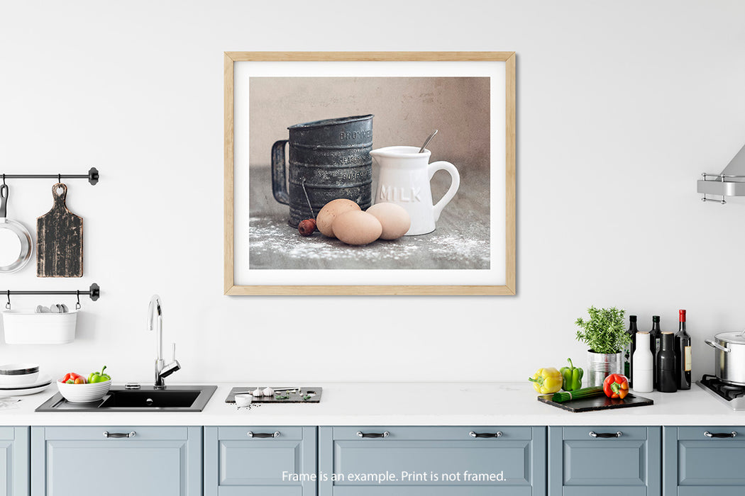 Milk and Cookies - Rustic Farmhouse Wall Decor for your Farmhouse Kitchen