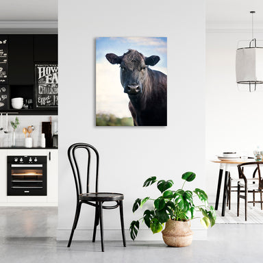 Miss Daisy - Cow Wall Art