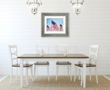 Never Forget - Rustic Americana Wall Decor with American Flag