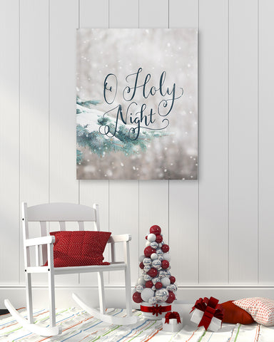 O Holy Night - Christmas Carol Wall Art